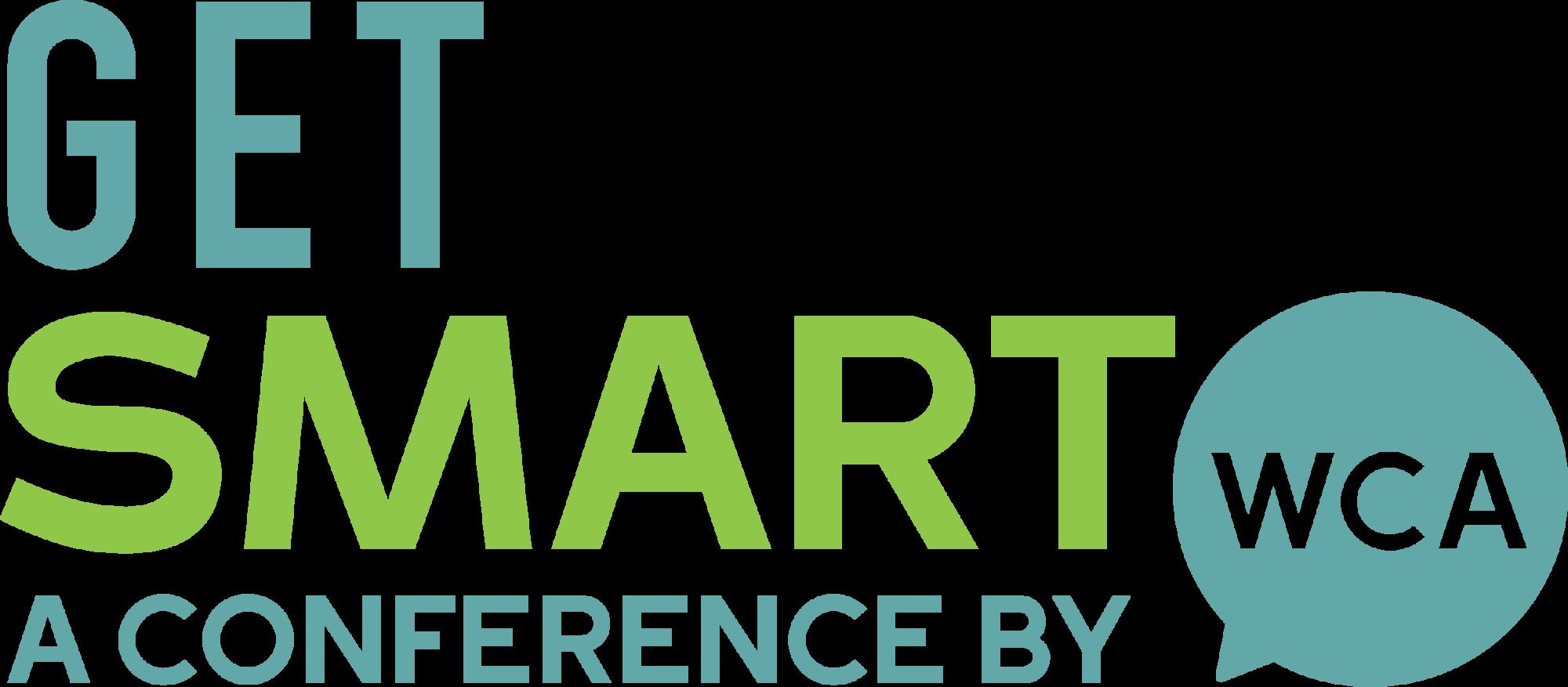 logo for get smart conference